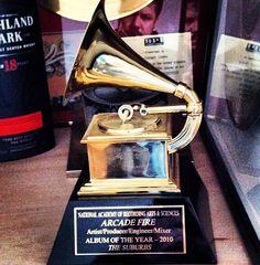 Arcade Fire Grammy
