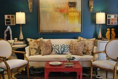 Chinoiserie Chic: More Red, White, and Blue Chinoiserie