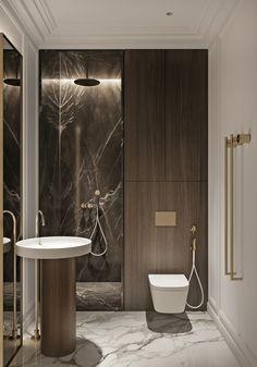 Smart Home Design, Home Room Design, Home Interior Design, Wc Design, Toilet Design, Bathroom Design Luxury, Bathroom Design Small, Luxury Interior, Modern Interior