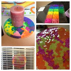 DIY melted beads suncatcher great summer project must try! :: ecrafty