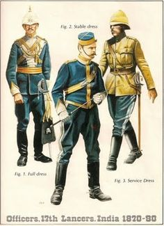 British Colonial Decor India | British colonial Indian style soldier outfits | British Colonial