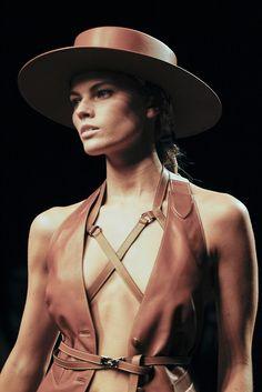 Maryna Linchuk at Hermes