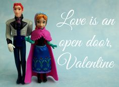 Frozen Valentines Cards Impaled