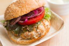 Salmon Burgers*
