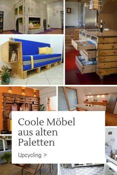 Upcycling: Coole Möbel Aus Alten Paletten U2013 Teil 5 Den Ersten Teil Unserer  Paletten