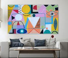 Große Gemälde Original Acrylgemälde abstrakt #4 aus Factory-Galerie abstrakt von ArtFactoryGallery auf Etsy https://www.etsy.com/de/listing/224482361/grosse-gemalde-original-acrylgemalde