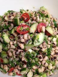 Φασόλια μαυρομάτικα σαλάτα - gourmed.gr Vegetable Recipes, Vegetarian Recipes, Cooking Recipes, Healthy Recipes, Delicious Recipes, Black Eyed Pea Salad, Pea Salad Recipes, The Kitchen Food Network, Salad Bar