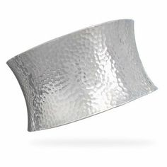 Concave Hammered Cuff Bracelet in Sterling Silver JL Fine Bracelets Collection. $339.00. Crafted of .925 sterling silver. Exquisite quality. Comes pouched or boxed
