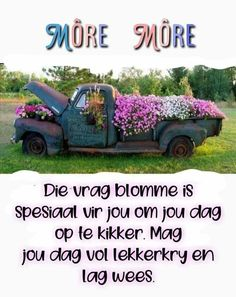 Goeie Nag, Goeie More, Good Morning Wishes, Projects To Try, Messages, Words, Afrikaans, Text Posts