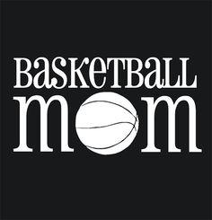 Basketball Mom Car Window Decal Basketball by CustomVinylbyBridge, $9.00