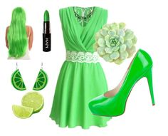 """""""Set #5. Lime-tastic"""" by girlsramazing on Polyvore"""
