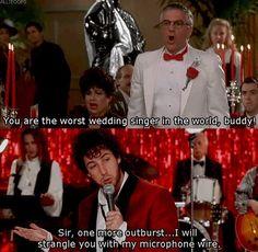 Wedding singer!!