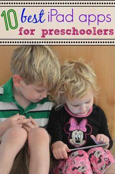 10 Best iPad Apps for Preschoolers