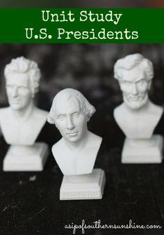 Unit Study-U.S. Presidents