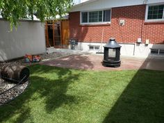 New patio and new sod job make this yard something to be jealous of. to get your own (403) 257-1965             or signaturelandscapingcalgary@gmail.com