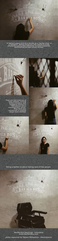 BarBerBos Chalk Lettering on Behance