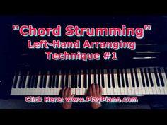 Left Hand Arranging Style #1: Chord Strumming - YouTube