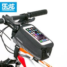 34ed6895ee4 ROSWHEEL bicycle bag accessories FOR 5.2 5.7 INCH PHONE