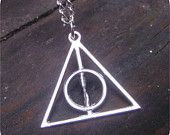 Deathly Hallows Pendant for gift bag