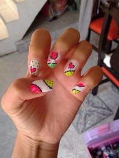 Uñas decoracion heiluz Shellac Nails, Nail Manicure, Stiletto Nails, Acrylic Nails, Hot Nails, Hair And Nails, Gorgeous Nails, Pretty Nails, Valentine Nail Art