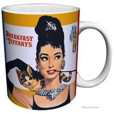 Breakfast at Tiffany's Mug...can someone please buy me this?