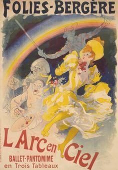 Jules Cheret ~ Folies-Bergère: L'Arc-en-Ciel - LACMA Collections