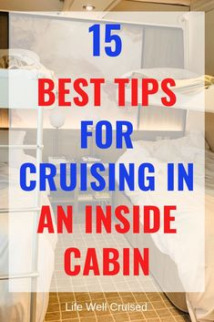 15 Best Tips for Cruising in an Inside Cabin: cabin organization and more - Life Well Cruised Cruise Packing Tips, Cruise Travel, Cruise Vacation, Packing Lists, Europe Packing, Traveling Europe, Vacation Deals, Backpacking Europe, Travel Deals