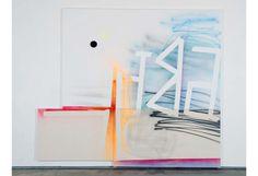 Wendy White, Abet, 2009, 95 x 1093/4 in (via Multiple Canvas)