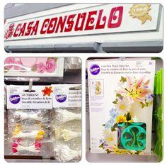 Quieres incursionar en el hermoso mundo de las flores de azúcar????? Tenemos para tí, cortadores de flores, pistilos y todo lo que necesites para realizarlas