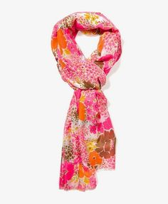 Retro Floral Scarf $6.80 (Forever 21)