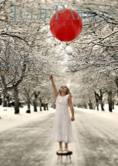 love the red balloon by itself.