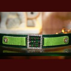 Poison Ivy is a fresh and spicy dog collar for everyday use. $38
