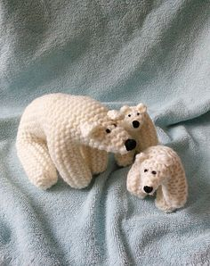 Ravelry: Project Gallery for Polar Bear pattern by The Knit Cafe Toronto   DEN MUSS ICH STRICKEN !!!