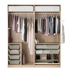 PAX Garderobekast - zachtsluitend beslag - IKEA