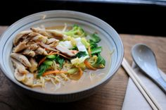 If you want to know how good our Chicken Ramen Noodles are, click on the picture and read the FOOD FOR THOUGHTS Blog about TooTooMoo. ;)   Have fun!
