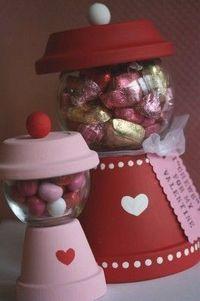 Flower Pot Candy Machine