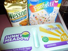4th Grade Frolics - cake mix cookies - so easy - so yummy