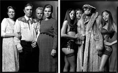 Portrait Diptychs Showing the Differences and Similarities Between Subcultures G6JTIu0