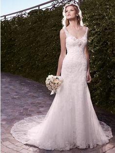 Pin It To Win It - Casablanca Bridal 2135 Wedding Dress  - #pinittowinit www.madamebridal.com