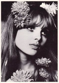 In the 1960s and 70s fashion followed the perfect Pre Raphaelite look as in this BIBA flower girl who resembles the author E. Nesbit.