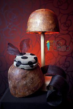Minihat polkadots sinamay || Photo: @wenlagris