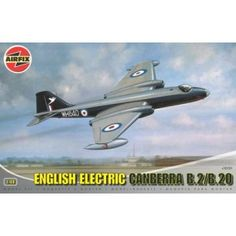 The English Electric Canberra from Airfix offers some nice detail and is straightforward to build. It is excellent value for money and will suit both the modeller with an eye for detail as well as the less experienced modeller. English Electric Canberra, Airfix Models, Fighter Jets, Aircraft, Aviation, Plane, Airplanes, Hunting, Airplane