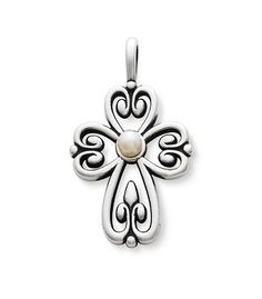 Cross of Adoration with Pearl | James Avery