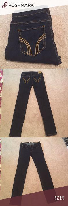 Never worn size 7 hollister skinny jeans Size 7 hollister skinny jeans. Never worn but washed once Hollister Jeans