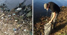 Dutch Guy Was Annoyed By The Trash On His Way To Work So He Did This: | Bored Panda