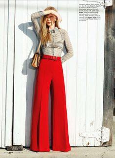 Inspiração Fashion   pantalonas