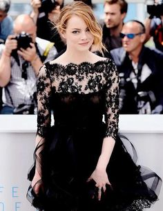 Emma Stone looking so on point. <3