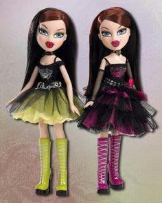 BRATZ Wicked Twinz Diona and Ciara
