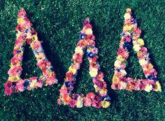 @Sorority Please Tri Delta Letters @TriDelta UCF UCF Tri Delta