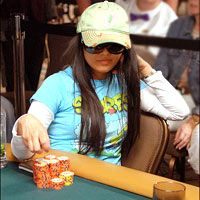 Lisa Hamilton: Originally from Hawaii and settled in Las Vegas, Lisa Hamilton is well-recognized high stakes live cash game player and World Series of Poker Bracelet winner. The 37-year-old young and gorgeous poker babe, although not a professional poker player, has been there in the background with considerable amount of success in the poker world.